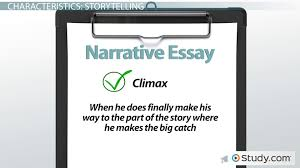 essay types videos lessons com narrative essay definition examples characteristics