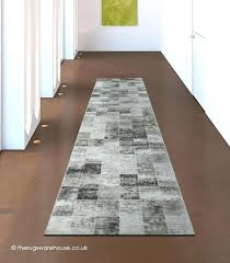 hallway rugs cedar silver runner a brown ivory squares pattern rug acrylic carpet black runners for carpet floor runners hall hallway black