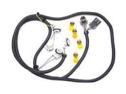 c5 corvette european headlight wiring harness 9005 9006 to h4 bulb c5 corvette european tail light complete harness plug play bulbs