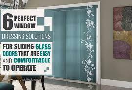 6 sliding glass door covering options