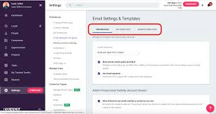 Email Settings And Email Templates Copper Help Center
