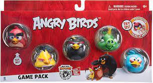 Angry Birds ANB0120 Game Pack (Hauptcharaktere) Spielset, mehrere Farben:  Amazon.de: Spielzeug