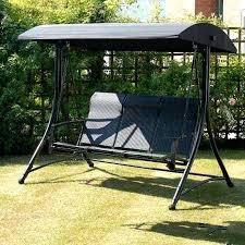 garden swing replacement canopy for 3 black swing garden swing settee