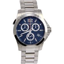 longines conquest men 039 s watch round blue dial sapphire quartz longines conquest men 039 s watch round blue dial sapphire quartz l37024966