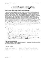 Pharmacy Tech Cover Letter No Experience Our Sample Of 19 Pharmacy Tech Cover Letter No Experience Increase