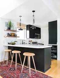 Black N White Kitchens 13 Foolproof Ways To Do Black Cabinets Right