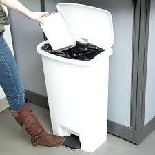 green 13 gallon trash can kitchen
