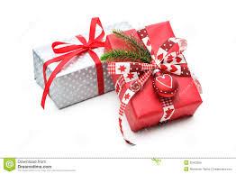 Decorative Holiday Boxes Christmas Gift stock image Image of isolated bright 100 53