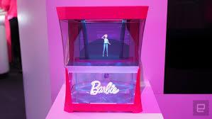 バービー人形がホログラムに Barbie Hello Hologramをmattelが発表