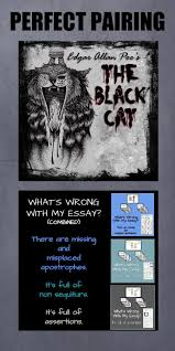 17 best images about 8th grade english short stories perfect pairing 2 the black cat and what s wrong my essay