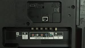 sony kdl40r510c. sony r510c rear inputs picture kdl40r510c