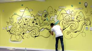 cool office wall art. 10 incredibly cool design office murals agencies creative bloq wall art o