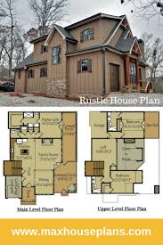 rustic house plans. Rustic House Plan With Porches, Stone And Photos Plans