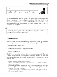 cognitive psychology  18