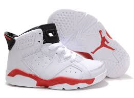 jordan shoes for kids. size 35 white red black air jordan retro 6 kids suit more child,jordan space shoes for e