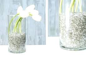 fillers for glass vases vase filler pounds clear pebbles glitter silver ideas filling large decor scroll
