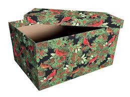 diy ornament storage box
