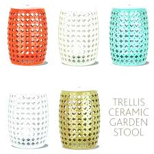 ceramic accent table garden of references in literature outdoor accent tables ceramic stool adds a pop ceramic accent table