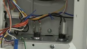 Ge Profile Microwave Repair Ge Microwave Vent Thermostat Replacement Wb27x709 Youtube