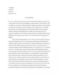Example Interview Essay 023 Interview Essay Examples Apa Format Example 309559