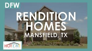 rendition homes at garden heights in mansfield tx
