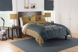 vegas golden knights queen full size comforter and 2 shams