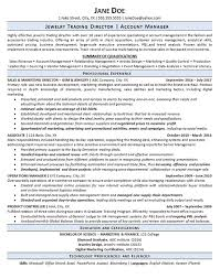 Jewelry Sales Resume Examples Jewelry Trading Resume Examples Operations Management