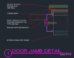 door jamb detail. Simple Detail Inside Door Jamb Detail D