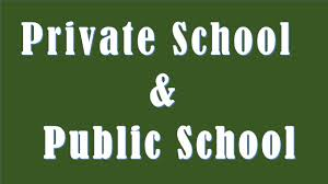 difference between private school and public school  difference between private school and public school