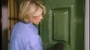 painting front doorVideo Painting A Front Door  Martha Stewart