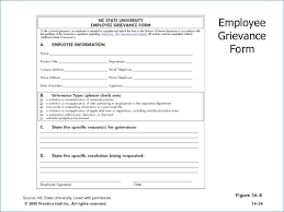 Employee Grievance Form Employee Grievance Form Tirevi Fontanacountryinn Com
