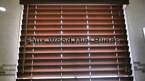Faux Wood Blinds w/ Vinyl Mini Blind Valence as Bathroom Window ...