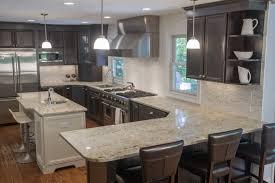 dark kitchen cabinets with light quartz countertops redesign kitchen
