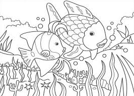 Small Picture Fish in the Lake of Nature Coloring Page Color Luna