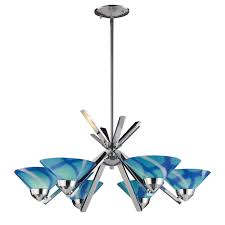 turquoise chandelier lighting. Turquoise Glass Chandelier Lighting Musethecollective