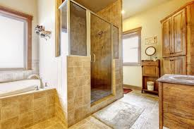 caring of showers made of natural stone