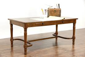 vintage office table. Item # 26136. A Traditional 1930\u0027s Vintage Library Table Office T