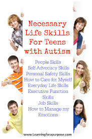 Autistic teens learn about money