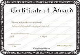 Performance Certificate Sample Best Performance Award Certificate Template Certificate
