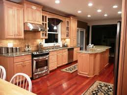 charming brazilian teak shaw laminate flooring plus maple cabinets and cool countertop for kitchen decoration ideas