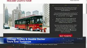 Chicago Trolley Christmas Lights Chicago Trolley And Double Decker Co Closing After New Years Eve