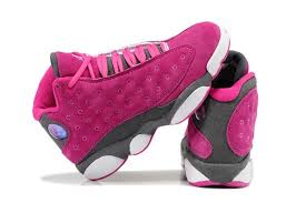 jordan shoes for girls 2015. girls air jordan 13 retro suede pink gray for sale new jordans 2015 shoes pinterest