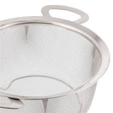 U.S. Kitchen Supply <b>Stainless Steel</b> 3 Quart Wide Rim <b>Mesh Net</b> ...