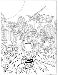 Small Picture Lego Batman Fash Action Movie 2017 Coloring Pages Printable