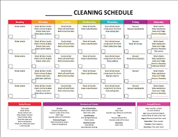 Daily Weekly Monthly Chores Monthly Chores Under Fontanacountryinn Com