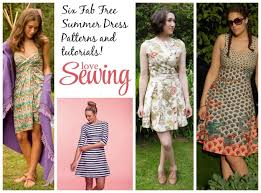 Summer Dress Patterns Beauteous Free Summer Dress Patterns And Tutorials