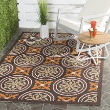 large size of great terracotta rug safavieh veranda traditional piled chocolate brown martha stewart indoor outdoor