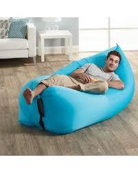 intex inflatable lounge chair. Lamzac The Original Inflatable Lounge Chair - Blue Intex