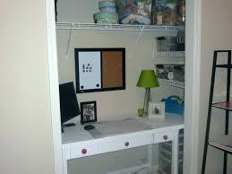 small closet desk ideas office design pictures home supply storage full size of cl closet into office ideas