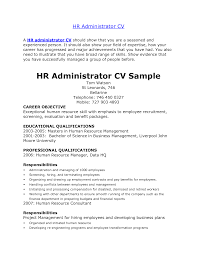 hr resume format  hr generalist resume samples  skills based    hr resume format